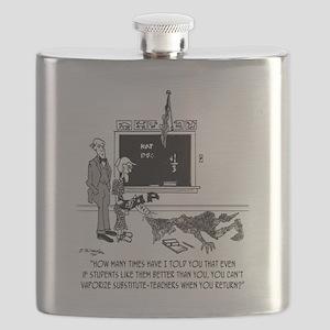 Vaporize Substitute-Teachers Flask