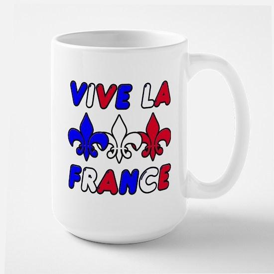 Vive La France Large Mug