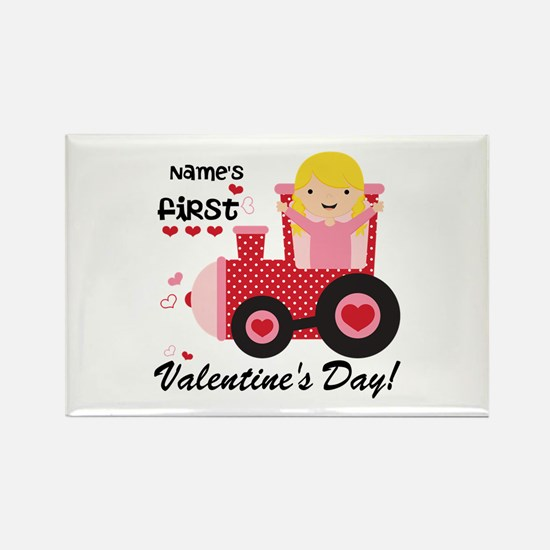 First Valentine's Day Rectangle Magnet (10 pack)
