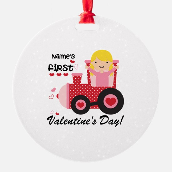 First Valentine's Day Ornament