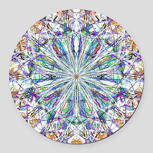 Mandala Spirit  Round Car Magnet