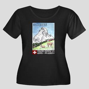 The Matterhorn Shop Women's Plus Size Scoop Neck D