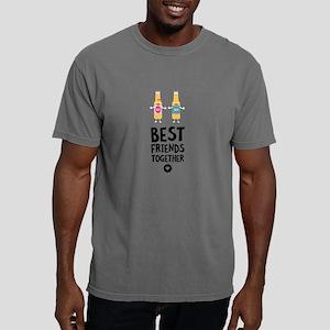 Beerbottles Best friends Heart T-Shirt