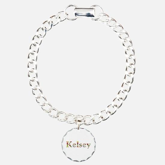 Kelsey Bright Flowers Bracelet