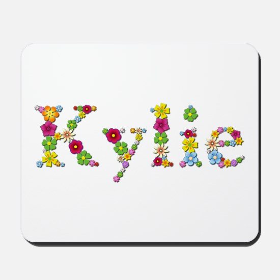 Kylie Bright Flowers Mousepad