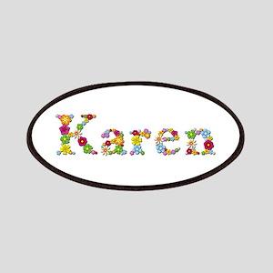 Karen Bright Flowers Patch