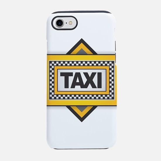 TAXI iPhone 7 Tough Case