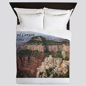 Grand Canyon, Arizona (with caption), Queen Duvet