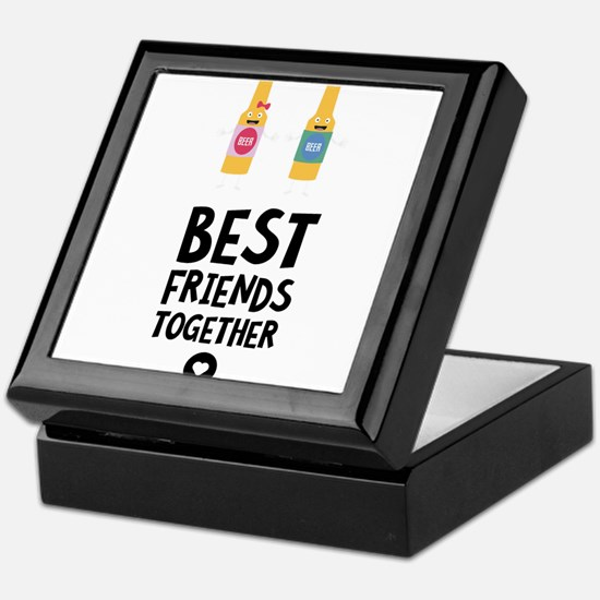 Beerbottles Best friends Heart Keepsake Box