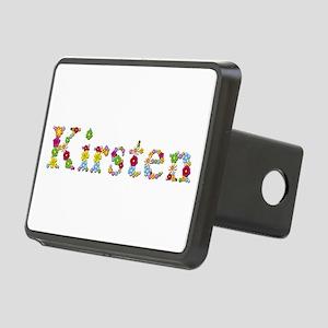 Kirsten Bright Flowers Rectangular Hitch Cover