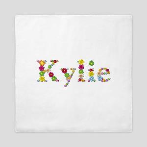 Kylie Bright Flowers Queen Duvet