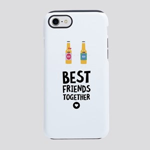 Beerbottles Best friends Heart iPhone 7 Tough Case