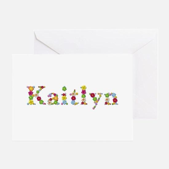 Kaitlyn Bright Flowers Greeting Card