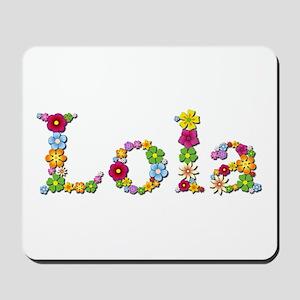 Lola Bright Flowers Mousepad