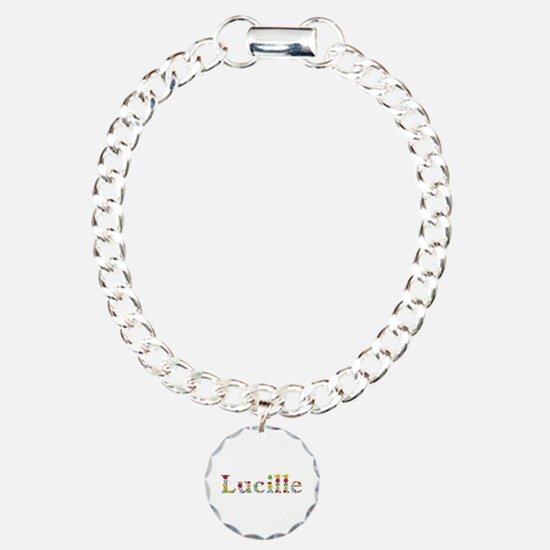 Lucille Bright Flowers Bracelet