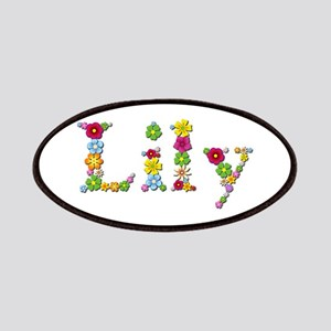 Lily Bright Flowers Patch
