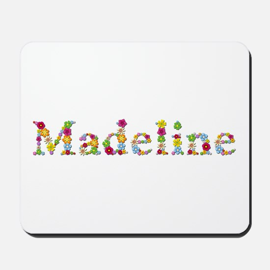 Madeline Bright Flowers Mousepad