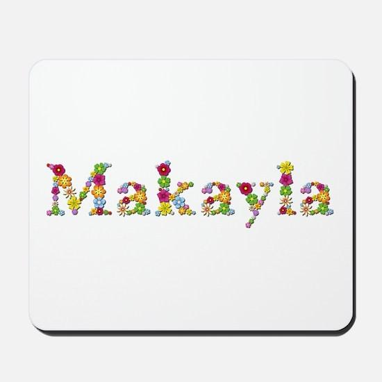 Makayla Bright Flowers Mousepad