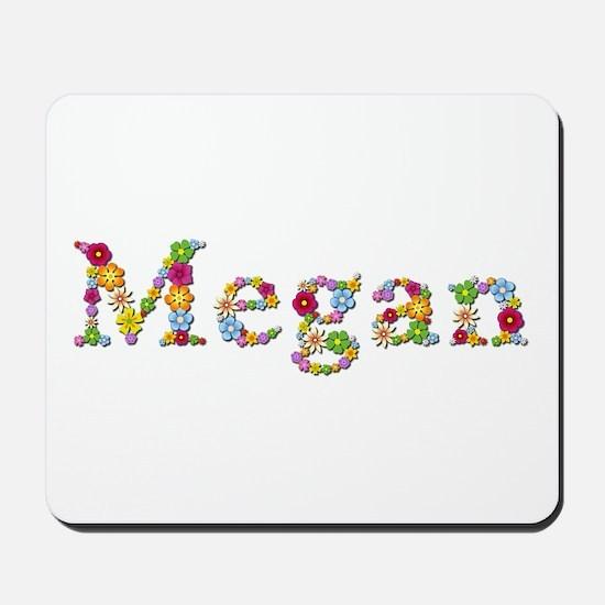 Megan Bright Flowers Mousepad