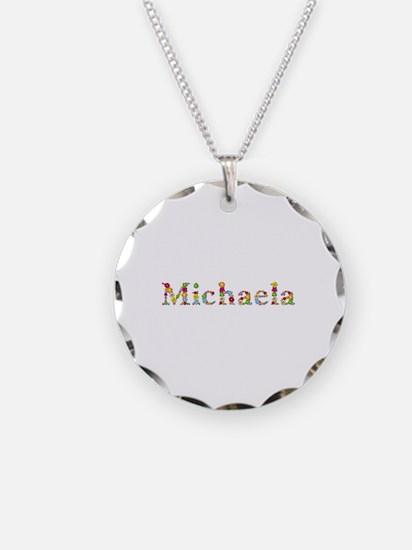 Michaela Bright Flowers Necklace