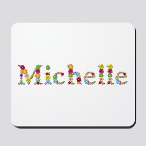 Michelle Bright Flowers Mousepad