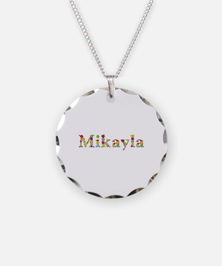 Mikayla Bright Flowers Necklace