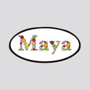 Maya Bright Flowers Patch