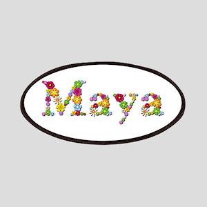 Maya Bright Flowers Patch