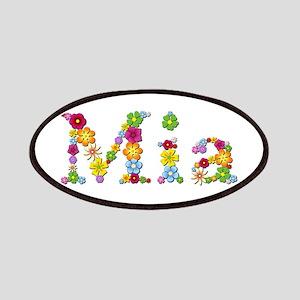 Mia Bright Flowers Patch