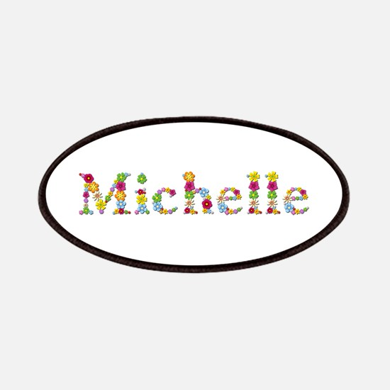 Michelle Bright Flowers Patch