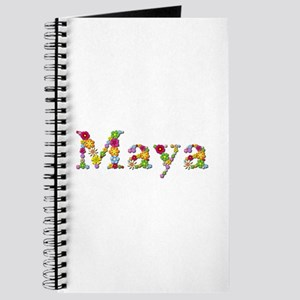 Maya Bright Flowers Journal