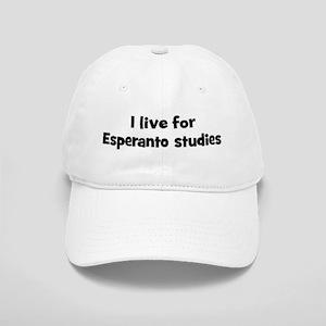 Live for Esperanto studies Cap