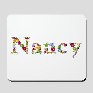 Nancy Bright Flowers Mousepad