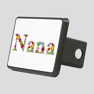 Nana Bright Flowers Rectangular Hitch Cover