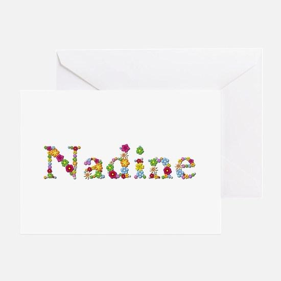 Nadine Bright Flowers Greeting Card