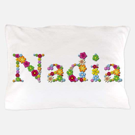 Nadia Bright Flowers Pillow Case