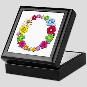 O Bright Flowers Keepsake Box