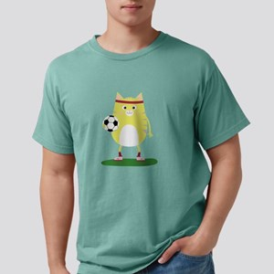 Soccer Cat with Ball T-Shirt