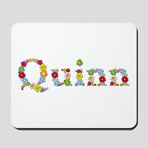 Quinn Bright Flowers Mousepad