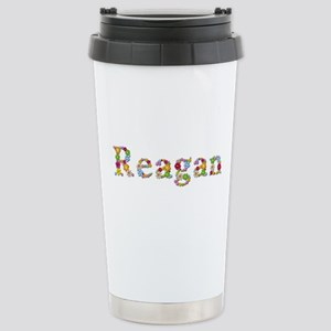 Reagan Bright Flowers Stainless Steel Travel Mug