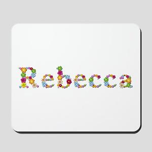 Rebecca Bright Flowers Mousepad
