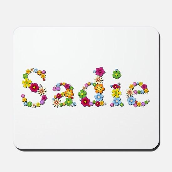 Sadie Bright Flowers Mousepad
