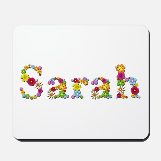 Sarah Bright Flowers Mousepad