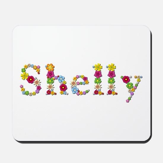 Shelly Bright Flowers Mousepad