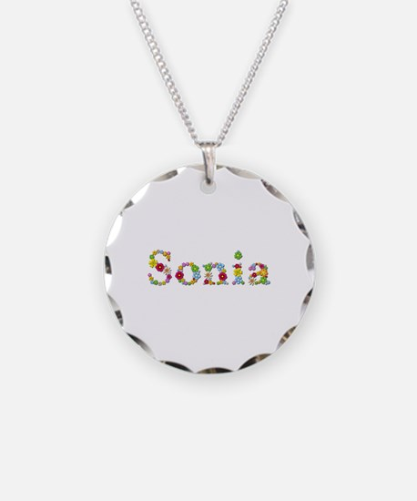 Sonia Bright Flowers Necklace
