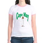 Cape May, New Jersey Jr. Ringer T-Shirt