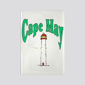 Cape May, New Jersey Rectangle Magnet