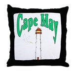 Cape May, New Jersey Throw Pillow