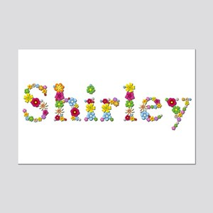 Shirley Bright Flowers Mini Poster Print
