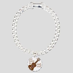 Frettin mahogony Charm Bracelet, One Charm